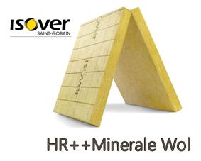 HR++ Minerale Wol isolatie